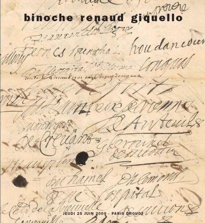 Documents et autographes