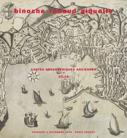 CARTES GÉOGRAPHIQUES ANCIENNES VOYAGES - ATLAS - RÉGIONALISME