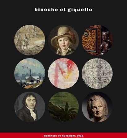Mobilier et objets d'art, dessins, tableaux anciens, tableaux modernes, miniatures, Haute Époque