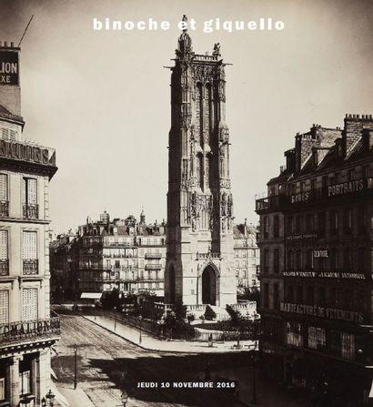 Gustave Le Gray - dix-huit vues de Paris