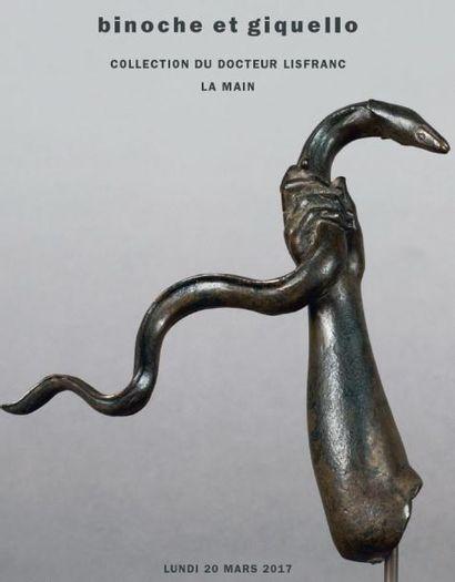 Collection du Docteur Lisfranc - la main