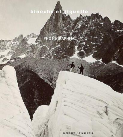 Photographies : Adolphe Braun – Cinquante-cinq vues des alpes entre 1860 et 1893