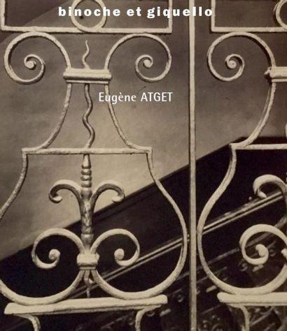Photographies : Eugène ATGET 46 vues de Paris et détails d'architecture