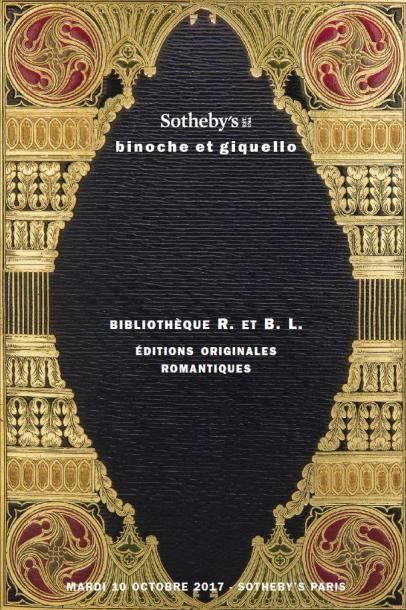 BIBLIOTHÈQUE R. ET B. L., EDITIONS ORIGINALES ROMANTIQUES