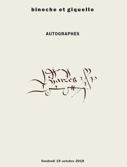 manuscrits, autographes, historiques, littératures, musique, peinture
