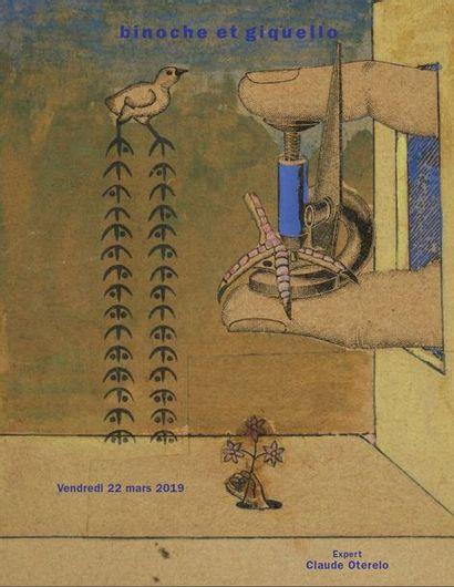 Henri Michaux - Max Ernst - Jacques Prévert - Ancienne collection René Bertelé - Collection Bernard Loliée