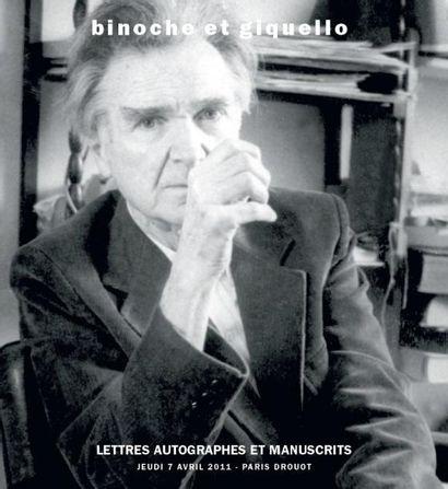 Autographes littéraires et artistiques du XXème siècle