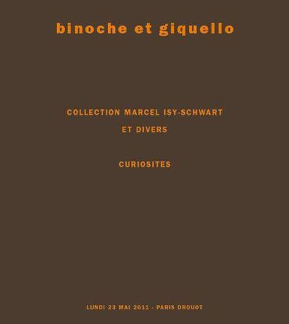 Objets de curiosités - Collection Marcel ISY-SCHWART