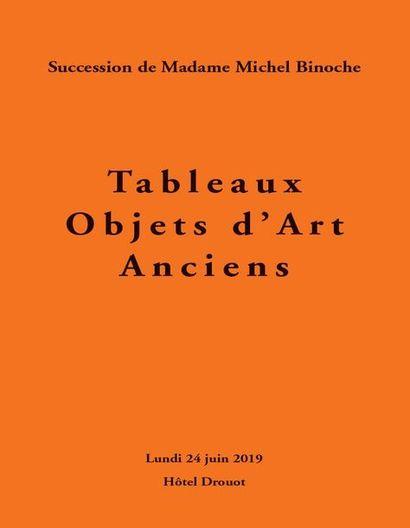 Tableaux - Objets d'Art Anciens, succession de madame Michel Binoche, 2e vente, en association avec Me Fraysse & Associés