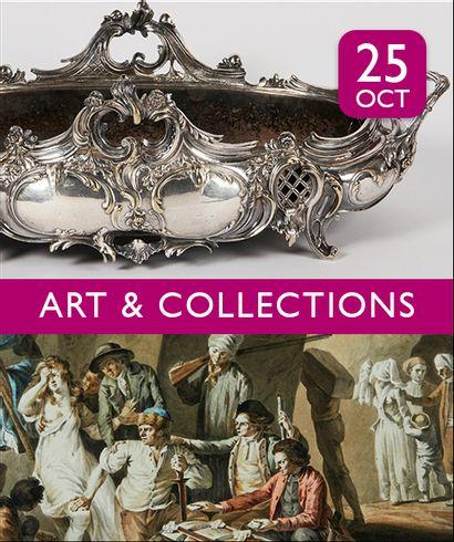 ARGENTERIE | ARTS DE LA TABLE | ART & COLLECTIONS : 350 lots sans prix minimum