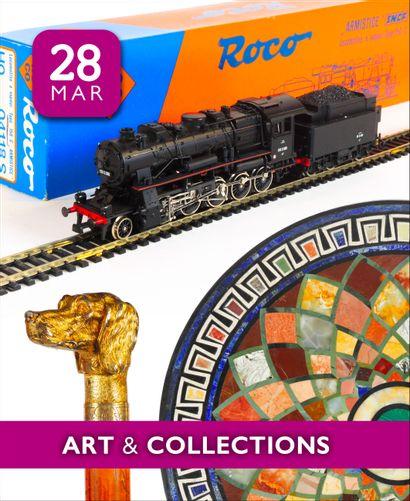 BEAUTIFUL TRAIN COLLECTION | ART & COLLECTIONS : 350 lots sans prix de réserve