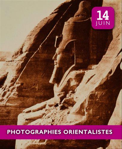 PHOTOGRAPHIES ORIENTALISTES - LIVE ONLY (vente à huis clos)