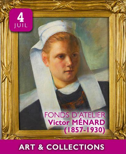 FONDS D'ATELIER Victor MENARD (1857-1930) | ART MODERNE... : 200 lots sans prix minimum