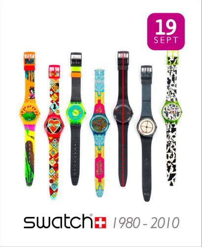 Collection : 30 ans de montres SWATCH
