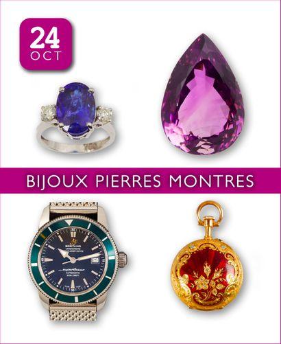 BIJOUX | PIERRES PRÉCIEUSES | MONTRES : +150 lots sans réserve