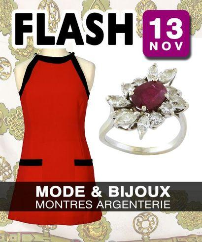 VENTE FLASH : mode (sur le thème de la), bijoux - nombreux lots sans minimum
