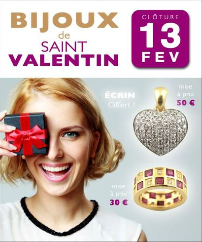 100 BIJOUX DE SAINT-VALENTIN