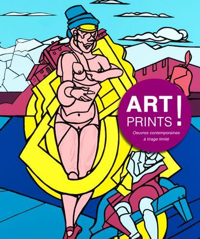 ART PRINTS ! ADAMI ?| MONORY | VILLEGLÉ  | WEISBUCH...