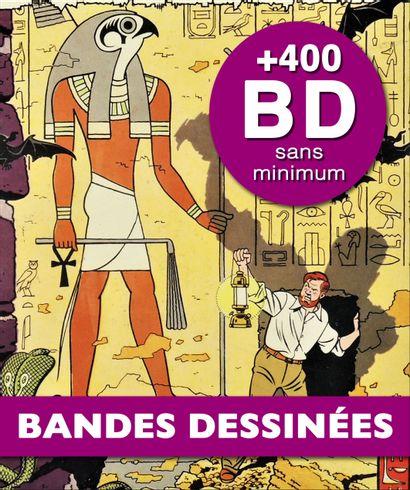 BANDES DESSINÉES - IMPORTANT FONDS PROVENANT DE LA LIBRAIRIE LEMARIÉ & À DIVERS AMATEURS - 2ème VENTE