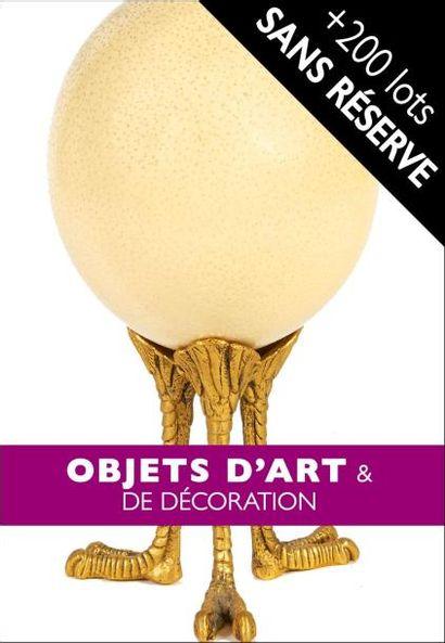 MOBILIER | OBJETS D'ART & DE DÉCORATION | NOMBREUX LOTS SANS MINIMUM