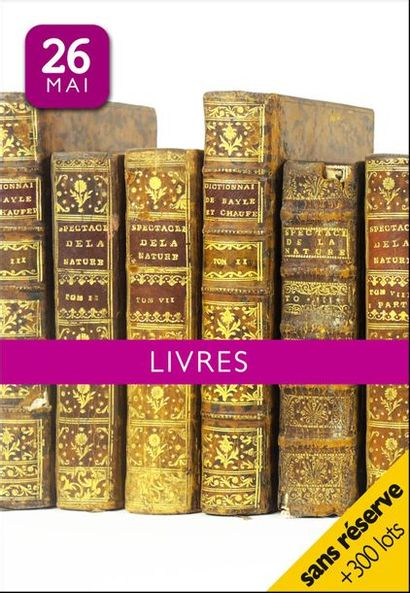 LIVRES | ESTAMPES | DESSINS