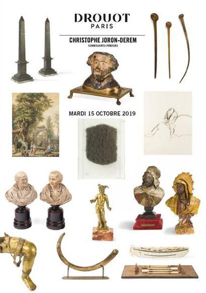 Naturalia, arts premiers, art d'Asie, verreries, céramiques, tableaux, mobilier et objets d'art