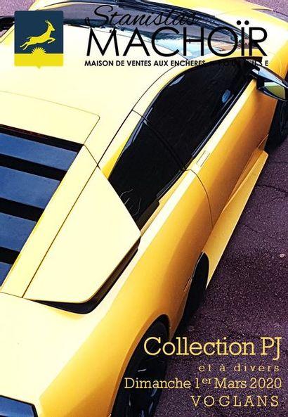 AUTOMOBILES & AUTOMOBILIA   COLLECTION P.J. AND MISCELLANEOUS