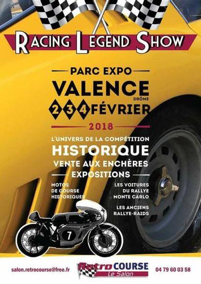 VENTE ANNULÉE!!! : AUTOMOBILES   MOTOS & AUTOMOBILIA - 6° SALON RETRO COURSE