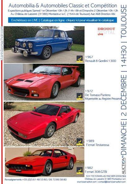 Automobiles Classic & Competition- Automobilia
