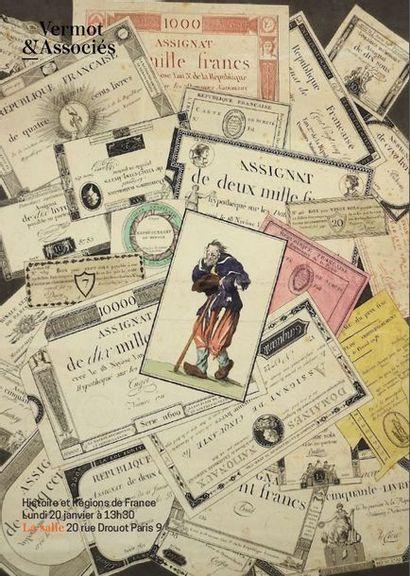 Histoire et Régions de France : Manuscrits, Affiches, Placards et Documents du XIVeme siècle au Général de Gaulle