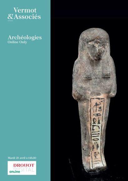 [VENTE MAINTENUE]- Archéologies Méditerranéennes, Asie, Art Précolombien, Curiosités, Documentation ... Plus de 500 lots