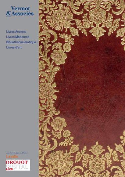 LIVRES ANCIENS ET MODERNES, BIBLIOTHEQUE EROTIQUE ET LIVRES D'ART