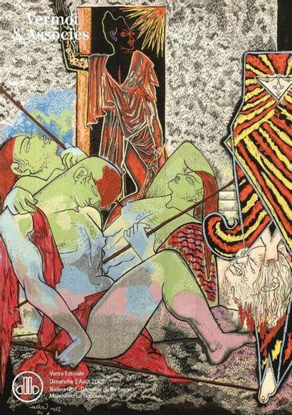 Vente Estivale : Tableaux Anciens, modernes et contemporains, Important ensemble Jean Cocteau, Archéologie, Orfèvrerie, Objets d'Art et Design...