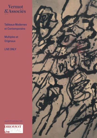 Vente Live de Tableaux Modernes et Contemporains, Multiples et Originaux