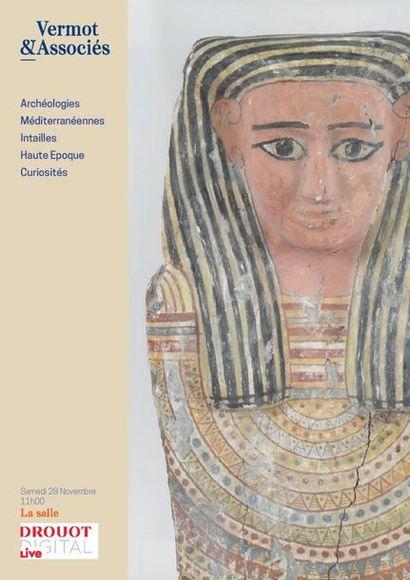 Archéologies Méditerranéennes, Intailles, Curiosités, Asie - LIVE, TELEPHONE ET ORDRES D'ACHAT