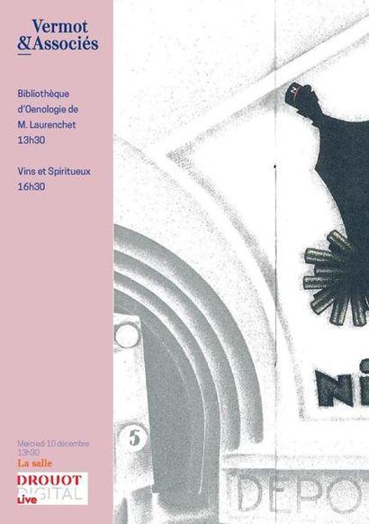 Bibliothèque d'Oenologie de M. Laurenchet - Vins et Spiritueux