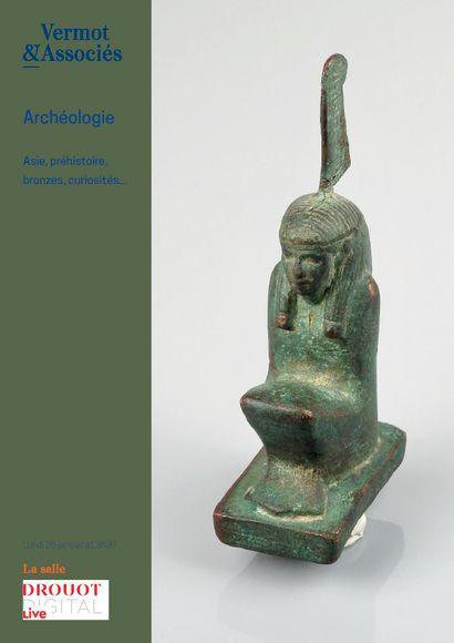 Vente online d'Archéologie, Asie, Bronzes, Curiosités etc