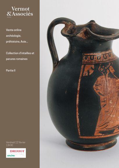 Archéologie, Asie, Bronzes, Curiosités, Collection d'intailles et bagues