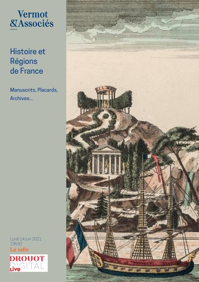 HISTOIRE ET REGIONS DE FRANCE : Manuscrits, Placards, Archives