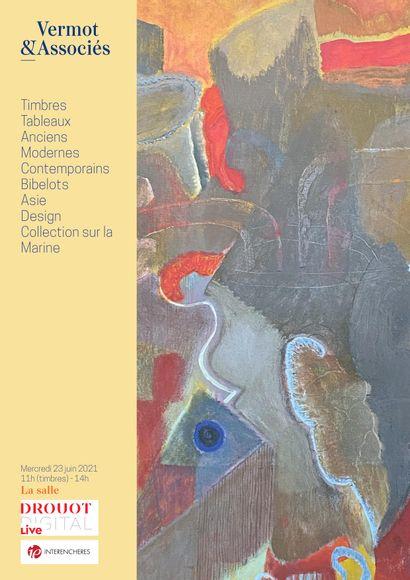 Timbres, Tableaux Anciens, Modernes et Contemporains, Bibelots, Asie, Design, Collection sur la Marine