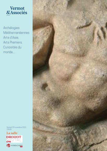 ARCHEOLOGIES MEDITERRANÉENNES, ARTS D'ASIE, ARTS PREMIERS, CURIOSITES DU MONDE