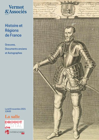 HISTORY AND REGIONS OF FRANCE : MANUSCRIPTS, PRINTS, ARCHIVES
