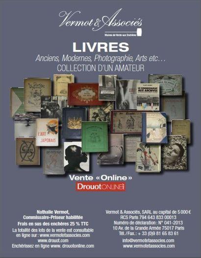 Livres modernes et anciens, livres d'art et sur la photographie