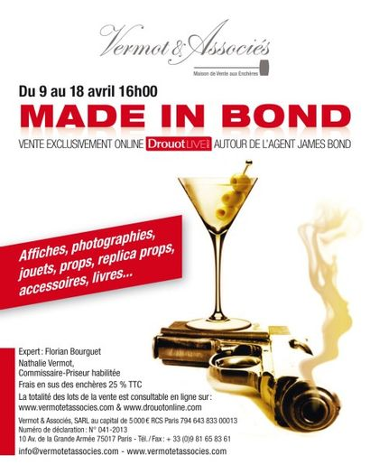Made in Bond - Affiches - Photographies - Jouets - Props - Replica