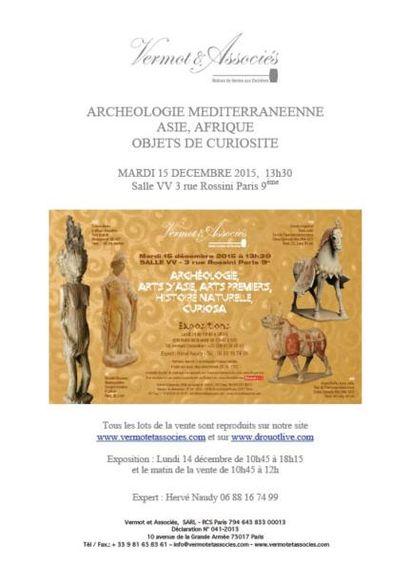 ARCHEOLOGIE MEDITERRANEENNE HISTOIRE NATURELLE ASIE, AFRIQUE OBJETS DE CURIOSITE