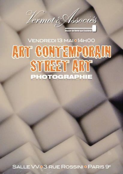 Art Contemporain, Photographie, Street Art et Graffiti
