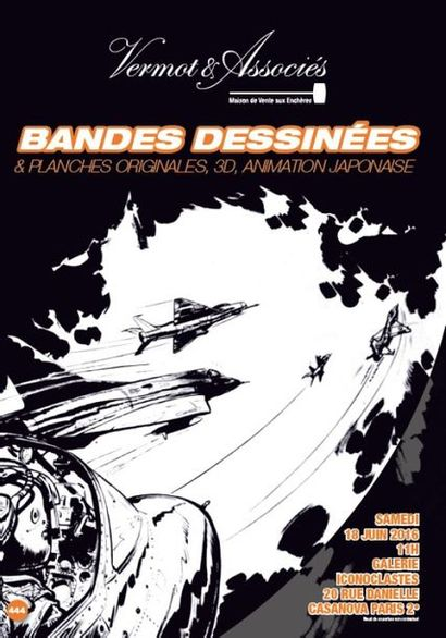 Bandes Dessinées et Planches Originales, Animation japonaise, 3D