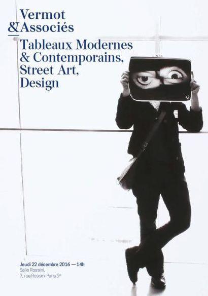 Tableaux Modernes & Contemporains, Avant Garde Russe, Street Art, Design, Mobilier de Chandigarh par Pierre Jeanneret