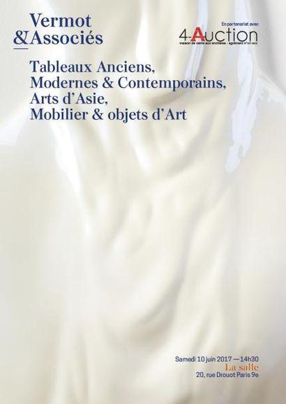 Tableaux Modernes, Orientalistes et Contemporains - Arts d'Estrême Orient - Arts Premiers - Mobilier et Objets d'Art