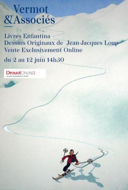 Livres Enfantina - Dessins originaux de Jean-Jacques Loup